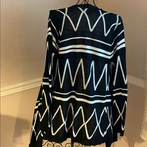 Say What? Sweaters - Black white cardigan size M
